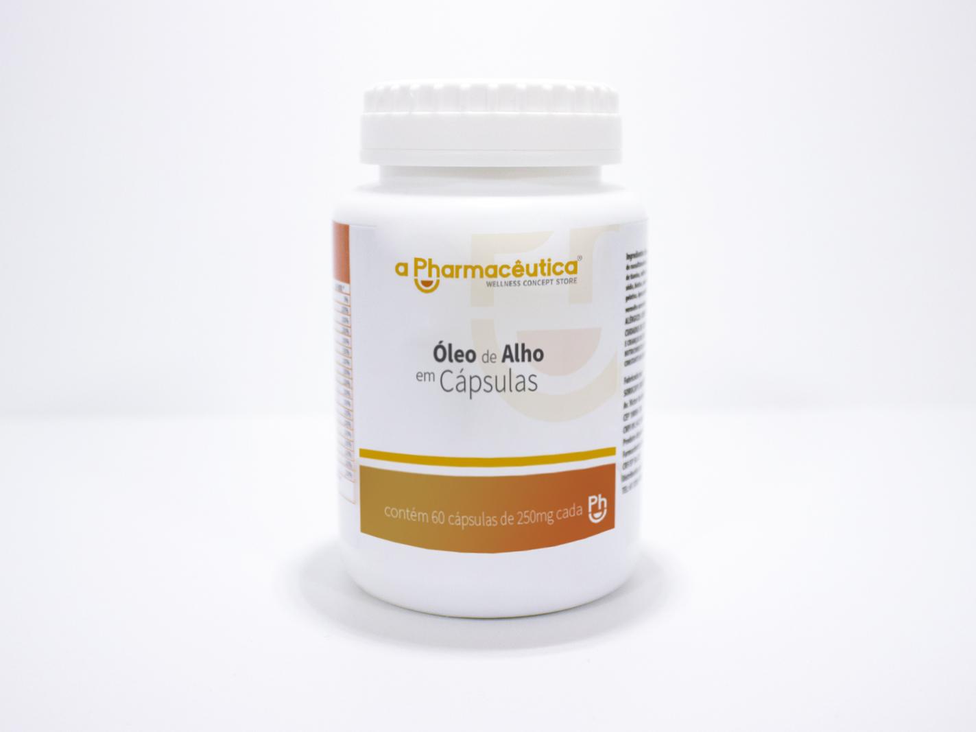 óleo de alho em capsulas