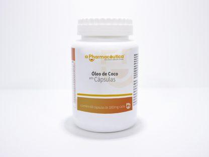 óleo de coco em cápsulas