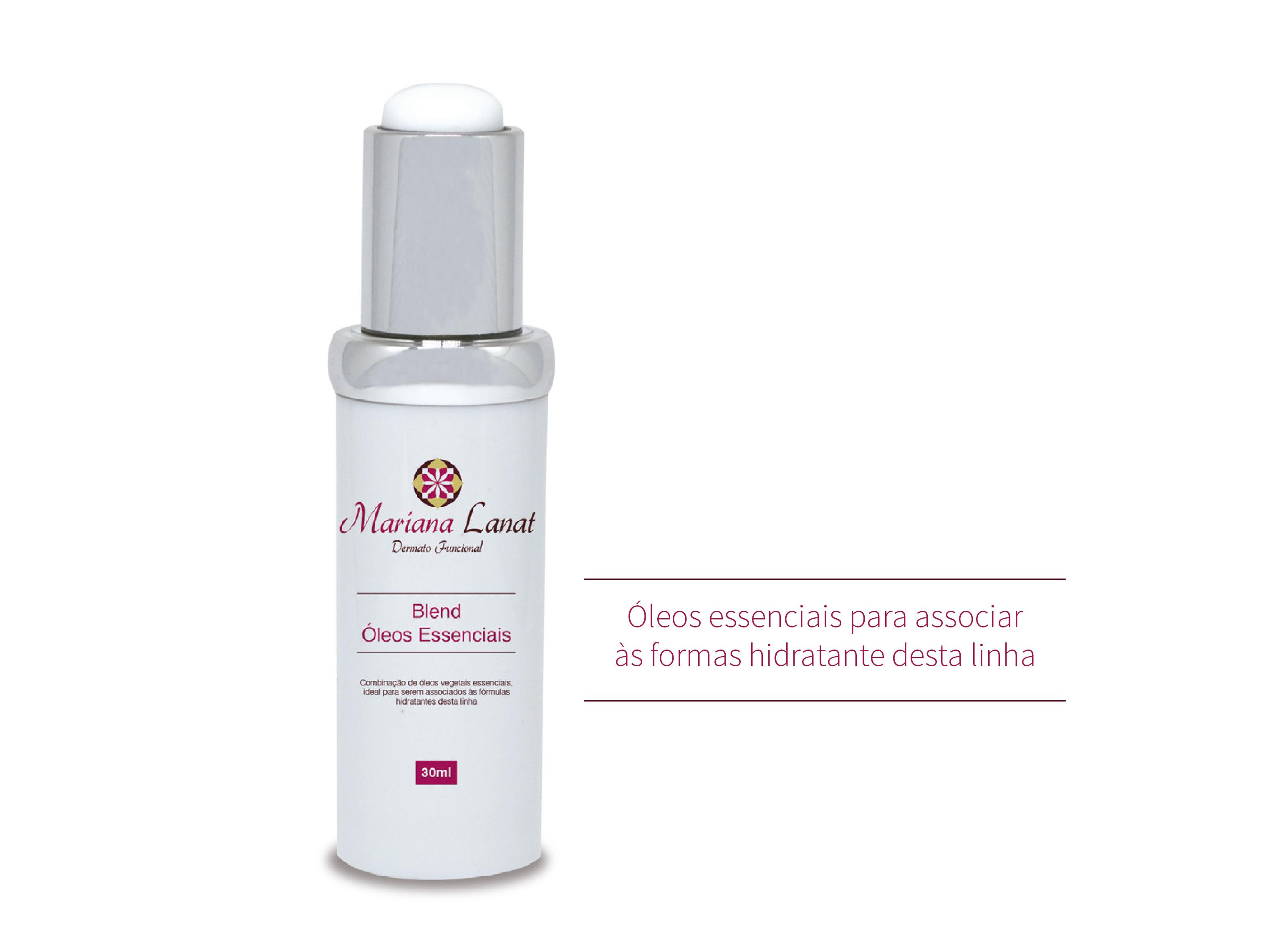 Combinação de óleos vegetais essenciais, ideal para serem associados às fórmulas hidratantes desta linh