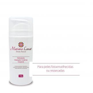 Fórmula com ativos clareadores, calmantes e hidratantes, ideal para peles foto envelhecidas e ressecadas.