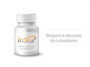 InSea2® é o primeiro bloqueador de carboidratos com ação dupla