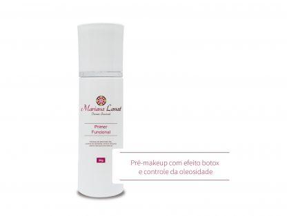 Fórmula com efeito botox like, controle da oleosidade, retratora de poros abertos ideal para pré make up.