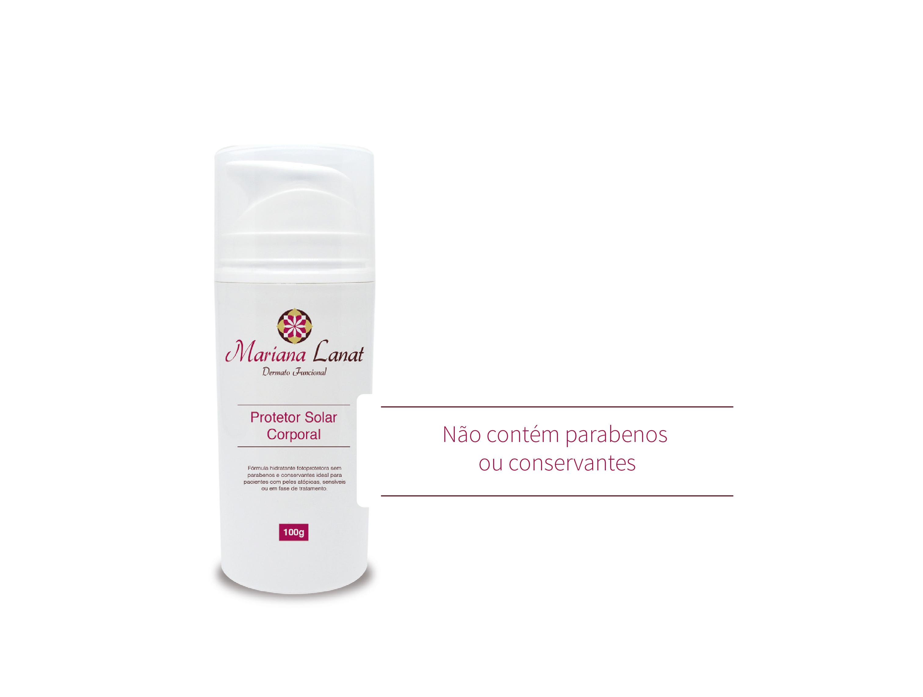 Fórmula hidratante fotoprotetora sem parabenos e conservantes ideal para pacientes com peles atópicas, sensíveis ou em fase de tratamento.