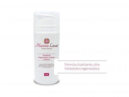 Fórmula com ativos cicatrizantes ultra hidratantes dérmica e regeneradoras epidérmicas ideal para peles ressecadas, atópicas e sensíveis.