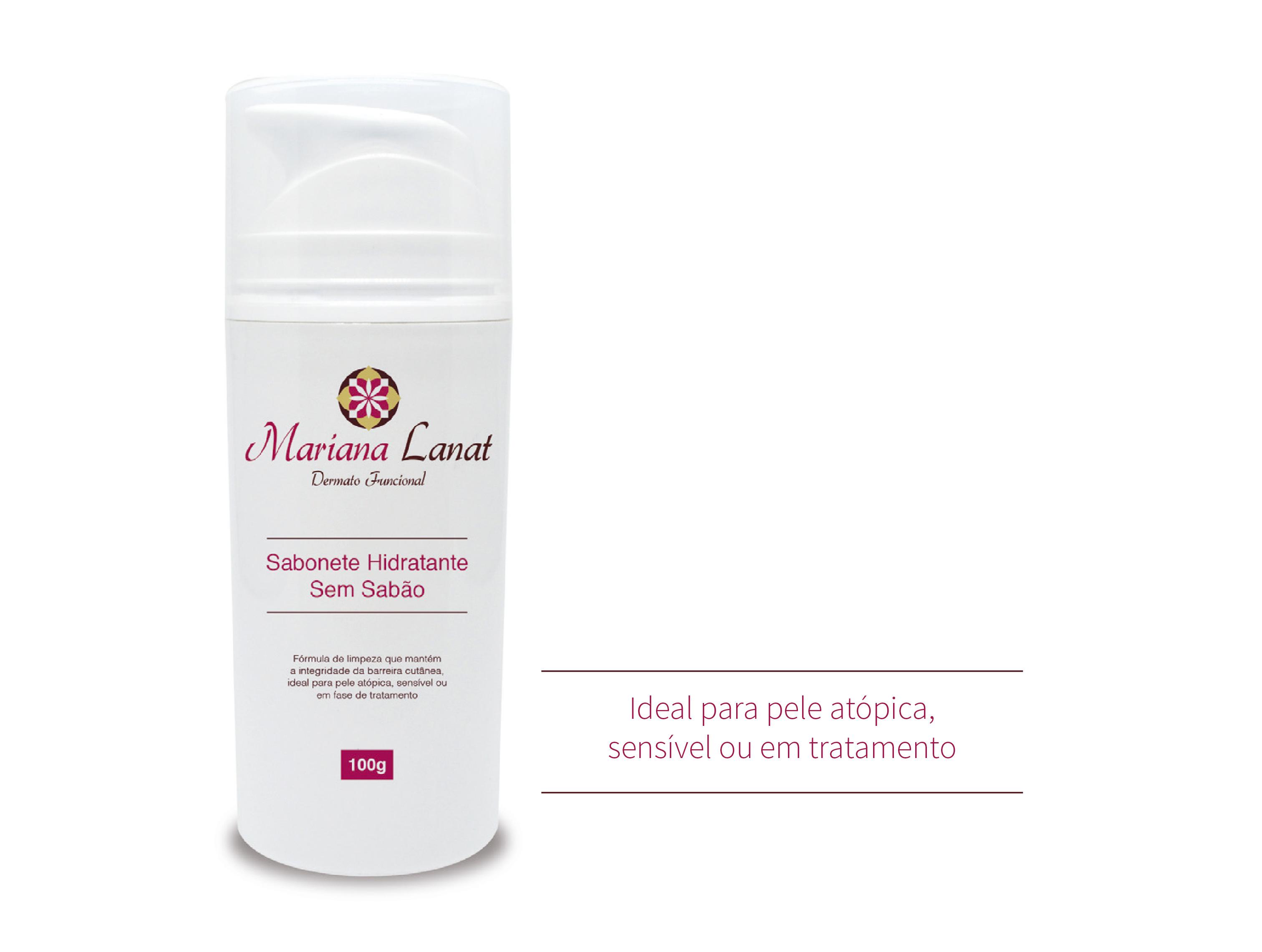Fórmula de limpeza que mantém a integridade da barreira cutânea, ideal para pele atópica, sensível ou em fase de tratamento.