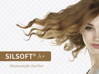 Silsoft® A+ para fios danificados pelo uso constante do secador e da chapinha.