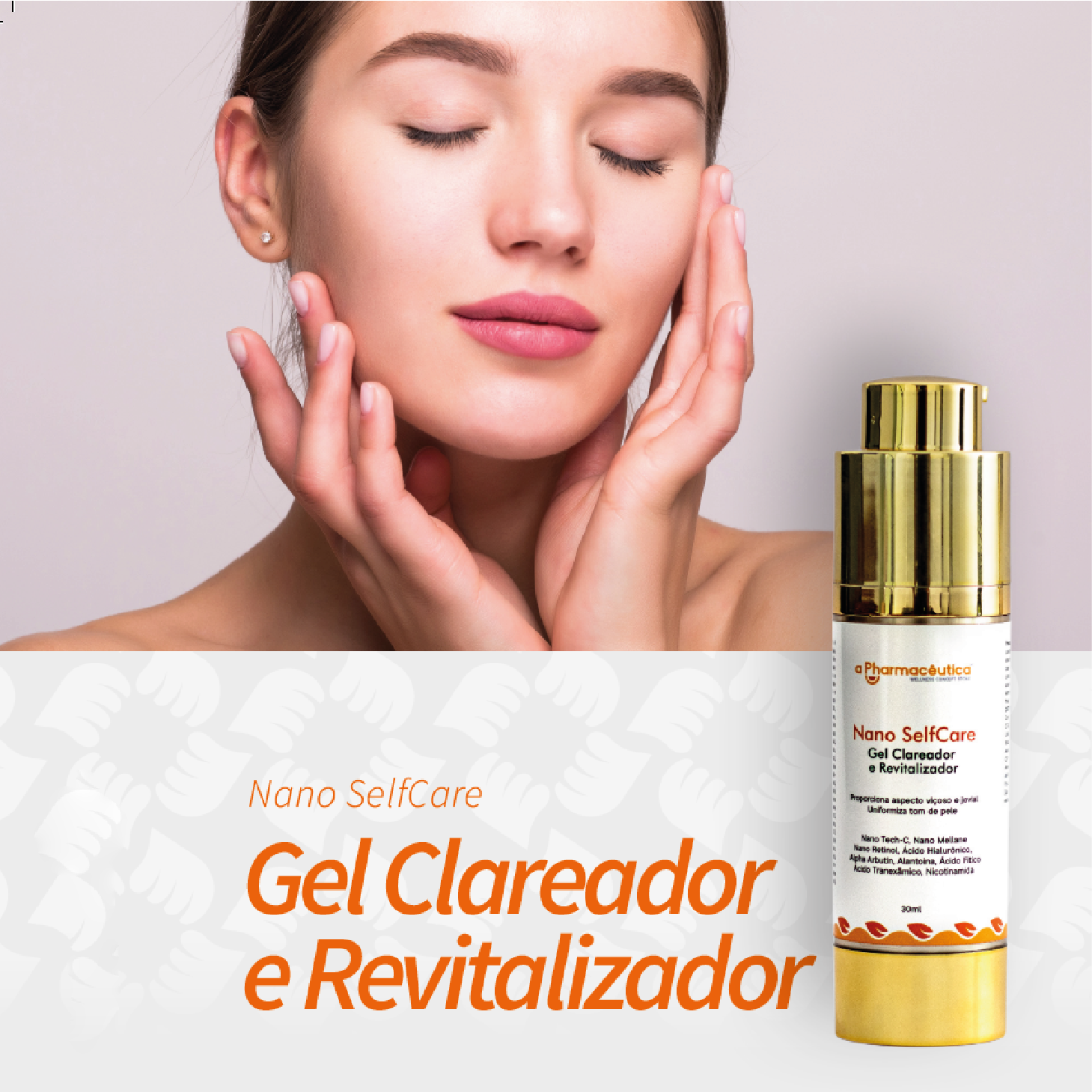 Gel Clareador e Revitalizador